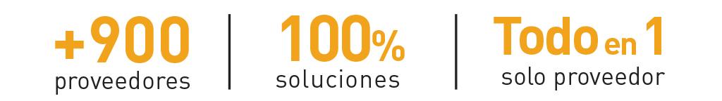 100% soluciones